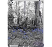 Woodland Scene - Bluebells iPad Case/Skin