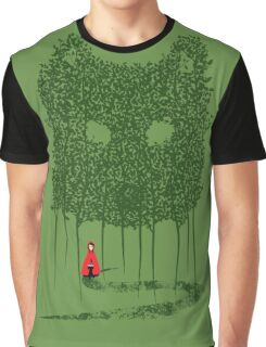 Red & The Wolf Graphic T-Shirt