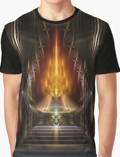 Temple Of Golden Fire Graphic T-Shirt