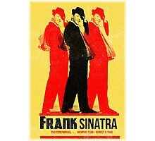 Frank Sinatra Letterpress Poster Photographic Print