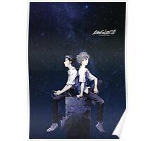 shinji and kaworu Poster