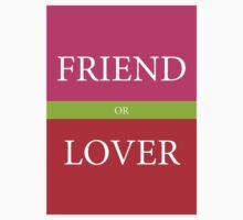 FRIEND or LOVER Kids Tee