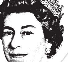 Really Queen Elizabeth? Sticker