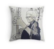 Heino Throw Pillow