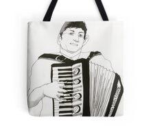 Accordion Player Tote Bag