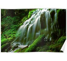 Oregon Waterfall 907-13 Poster