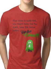 Miscellaneous - bwah-choo Tri-blend T-Shirt