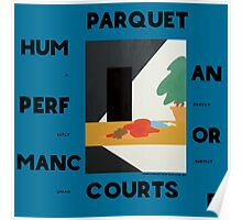 Human Performance Parquet Courts Rock  Poster