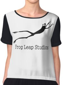 frog leap studios - Metal Chiffon Top