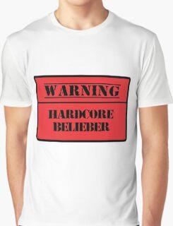 Hardcore Belieber Graphic T-Shirt