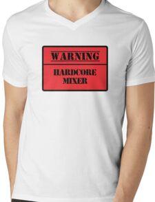 Hardcore Mixer Mens V-Neck T-Shirt