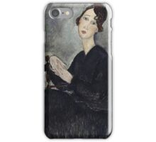 Amedeo Modigliani - Portrait Of Dedie Odette Hayden iPhone Case/Skin