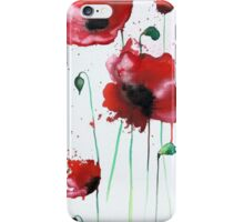 April Poppies 1 iPhone Case/Skin
