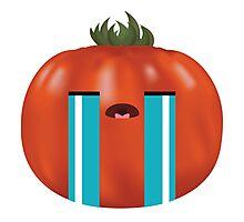 Emotional Heirloom Tomato Photographic Print