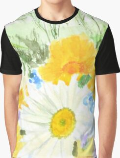 colorful cheery wild flower 2 Graphic T-Shirt
