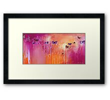 Spring Butterflies - rectangle Framed Print