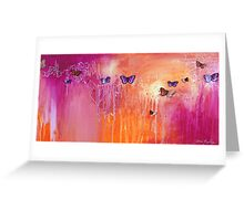 Spring Butterflies - rectangle Greeting Card