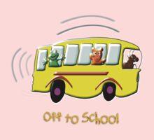 Off to School drawstring bag, etc. design One Piece - Long Sleeve