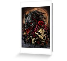 Seduction of Decay Greeting Card