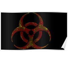 Biohazard symbol 3 Poster