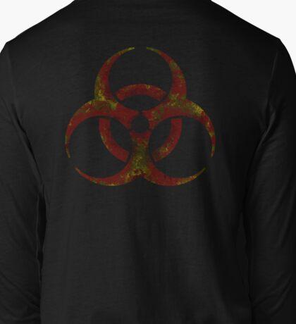 Biohazard symbol 3 Long Sleeve T-Shirt