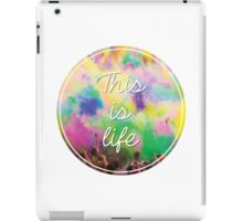 This Is Life - Festival iPad Case/Skin