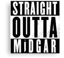 Straight outta Midgar Canvas Print