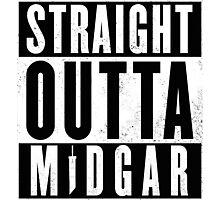Straight outta Midgar Photographic Print