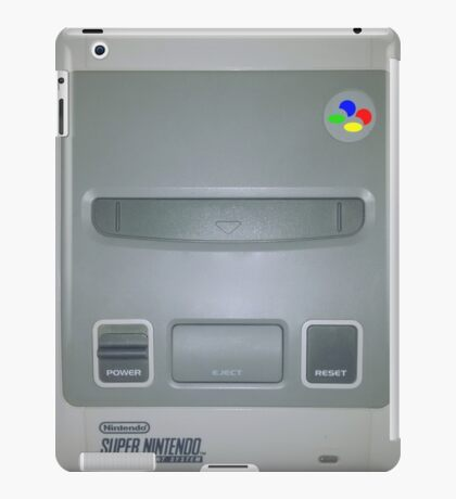 SNES iPad Case/Skin