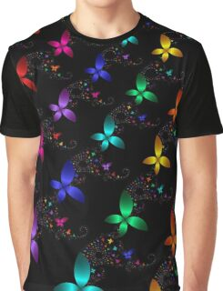 Fractal Butterflies 105 Graphic T-Shirt