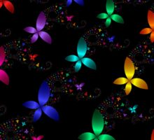 Fractal Butterflies 105 Sticker