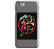 Chimera, with searing eyes iPhone Case/Skin