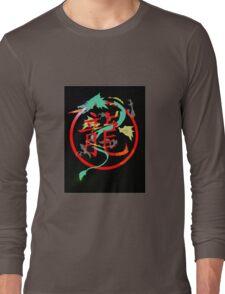 Chimera, with searing eyes Long Sleeve T-Shirt