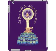 Let Your Light So Shine Before Men iPad Case/Skin