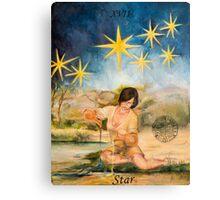 the Star Canvas Print