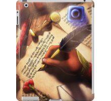 The Writer (Digital Illustration) iPad Case/Skin