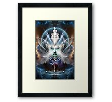 Thera Of Titan Framed Print