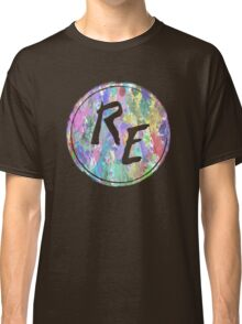 Rough Edit Splatter Logo Classic T-Shirt