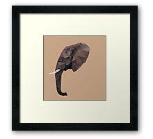 LP Elephant Framed Print