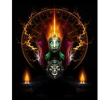 Riddian Queen Of Fire Photographic Print