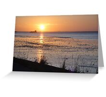 Sunset 5 Greeting Card