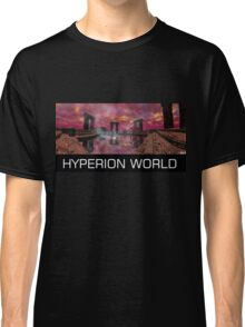 TEMPLE OF WATER /HYPERION WORLD ,Sci-Fi Movie Classic T-Shirt