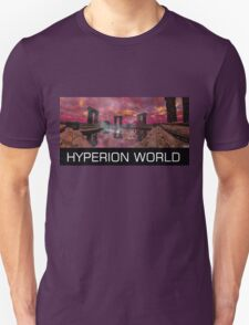 TEMPLE OF WATER /HYPERION WORLD ,Sci-Fi Movie T-Shirt