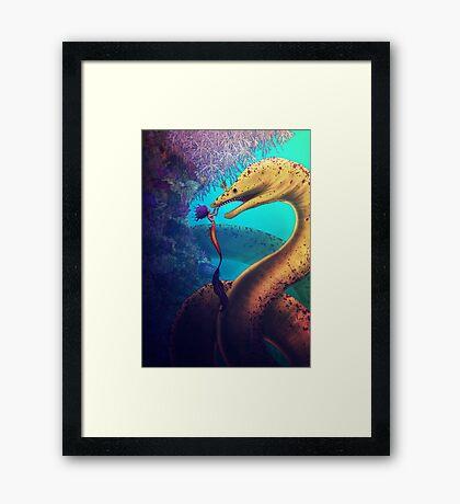 My Old Friend (Digital Illustration) Framed Print