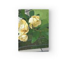 Rosas Amarillas  Hardcover Journal