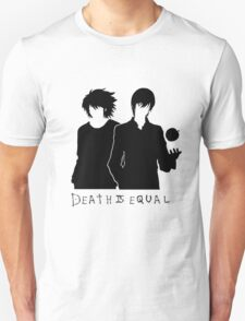 L Lawliet and Light Yagami T-Shirt