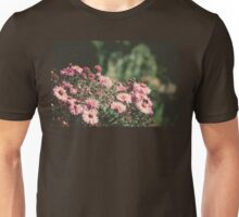 Pink Flowers with Butterfly Filtered Unisex T-Shirt