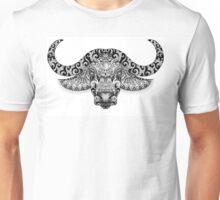 Bull, buffalo head with horns Unisex T-Shirt