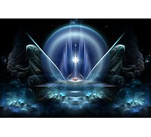 Seat Of The Gods Fractal Art Photographic Print