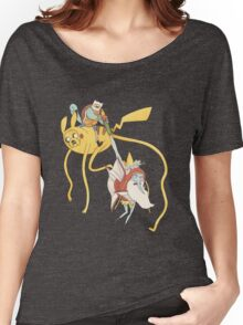 Pokebattle! Come on, grab your friends... Women's Relaxed Fit T-Shirt